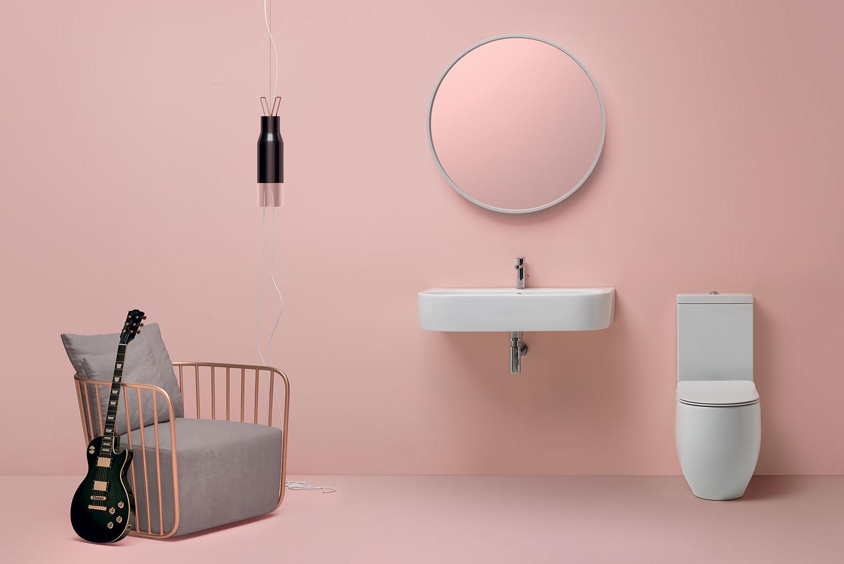 kerasan-flo-lavabo-90cm-e-vaso-monoblocco