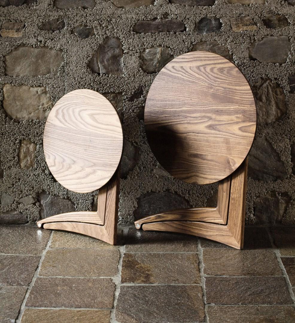 tavolini Pleilu di Del Fabbro chiusi