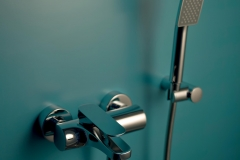 FIMA CARLO FRATTINI_Quad_miscelatore vasca esterno con set doccia