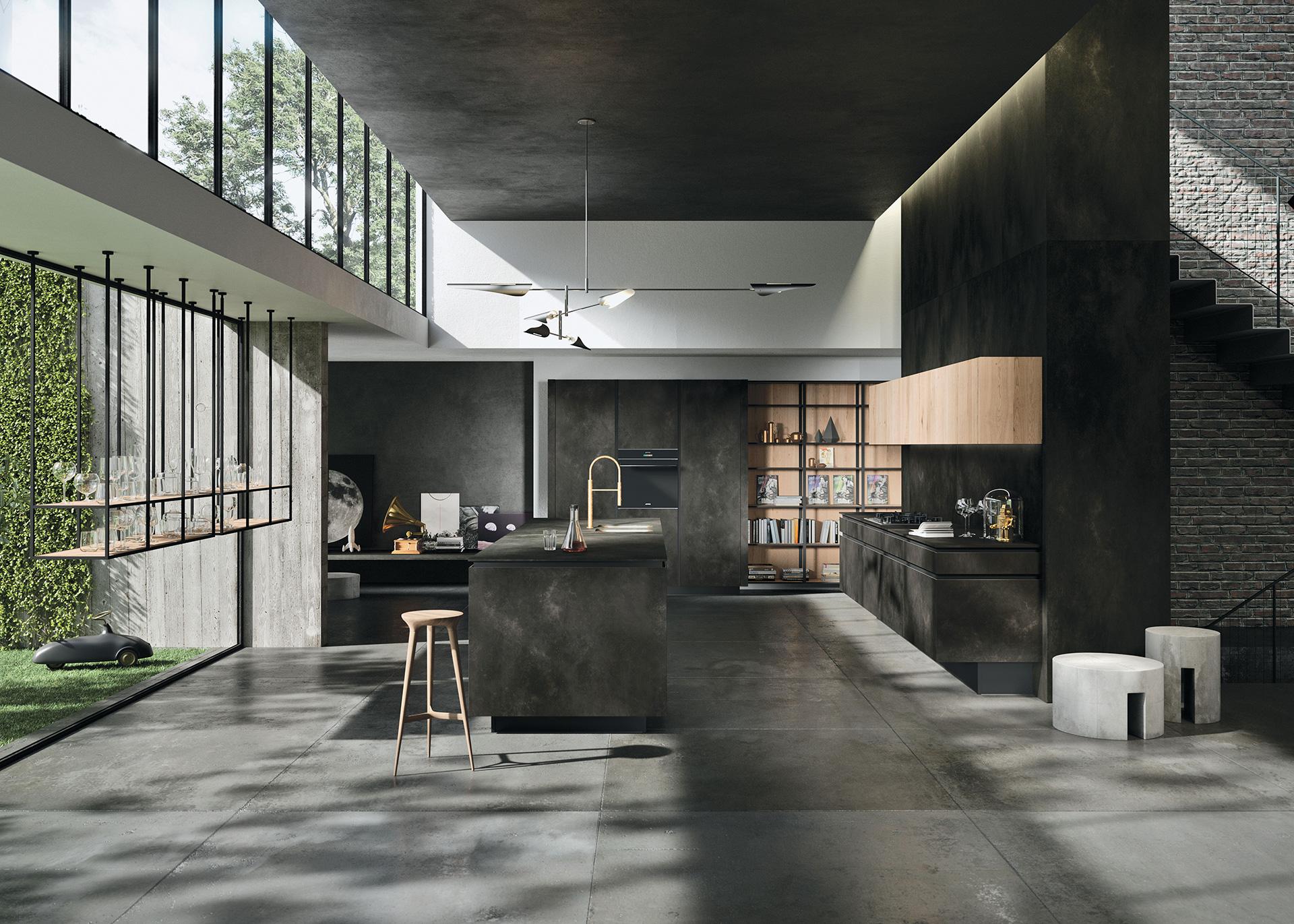 cucina-Way-ceramica-ossido-nero-1