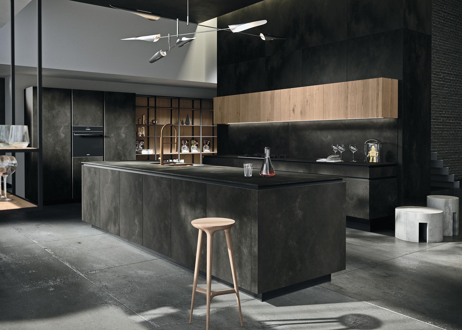 cucina-Way-ceramica-ossido-nero-2