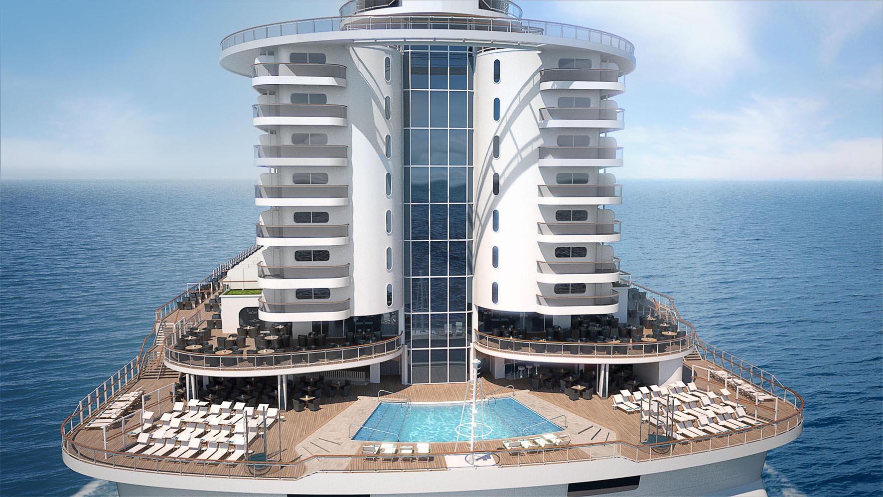 MSC Seaside, South Beach Pool